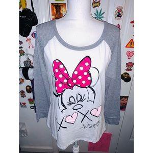 Minnie Mouse Sleep Tee 🐭